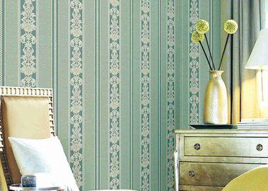 Вашабле классические Стрипед флористические обои, заволакивания стены винила материальные прочные