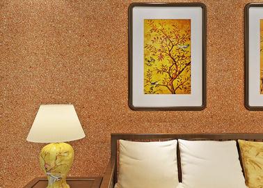 заволакивание стены слюды 0.53*10м/не- сплетенный цвет желтого цвета обоев живущей комнаты современный