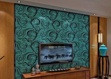 Роскошное звукоизоляционное заволакивание стены обои/3Д стада бархата с размером 0.7*10М, Эко дружелюбным